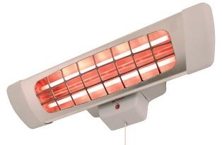 Инфракрасный обогреватель мощностью 1,8 кВт