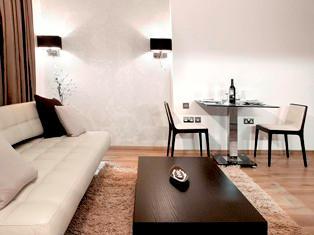Примеры освещения зала или гостинной