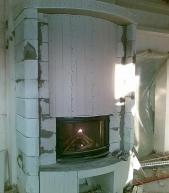 печное отопление дачи