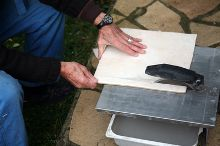 Режем керамическую плитку