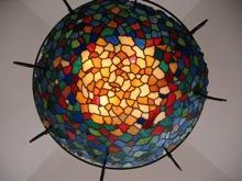 Витражный фонарь