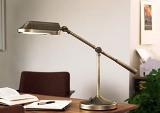 Правильное освещение рабочего стола