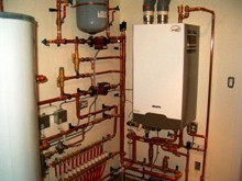 арматура обвязки водонагревательного котла
