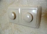 Как поменять выключатель освещения на светорегулятор