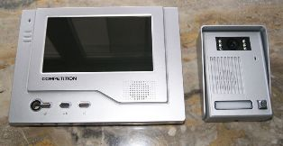 Установка видеодомофона