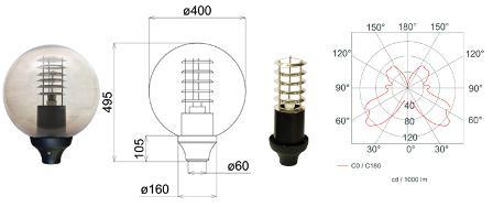 Уличные светильники – цена на многообразие предлагаемых изделий