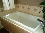 Акриловые вкладыши позволят сэкономить на ремонте ванной
