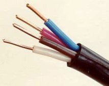 Жилы и изоляция кабеля