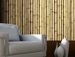 Бамбук в интерьере – уникальная гармония природы