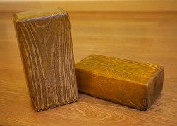 Деревянные кирпичи. Кирпич как кирпич, только ... деревянный