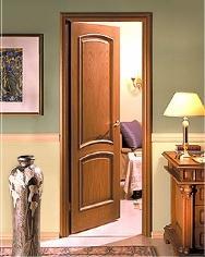 Деревянная щитовая дверь