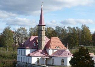Землебитный дворец в Гатчине
