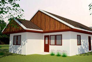 Проект землебитного дома