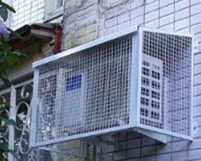 Антивандальная защита внешнего блока кондиционера