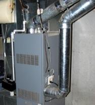 Основные элементы системы воздушного отопления дома
