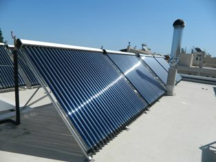 Солнечные коллектора в системе подогрева воды