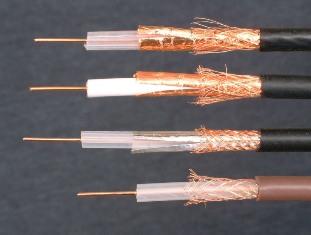 Антенный кабель Виды антенных кабелей