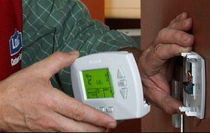 Настройка программируемого термостата системы отопления дома