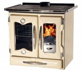 Современная отопительно-варочная печь для загородного дома
