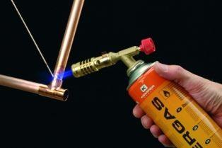 Пайка деталей газовой горелкой