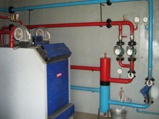 Система отопления с твердотопливным котлом