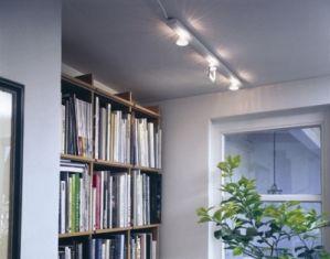 Галогенные лампы в интерьере помещения