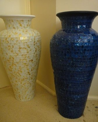 мозаичные вазы