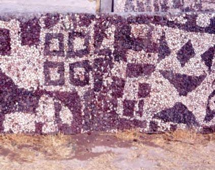 Древнейшая галечная мозаика