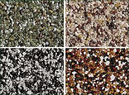 виды мозаичной штукатурки