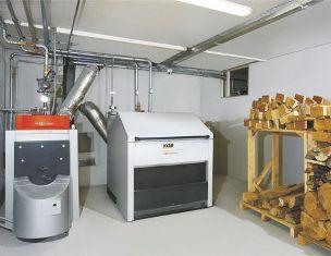 двухконтурный дровяной котел отопления