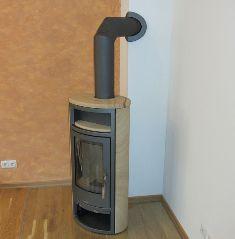 устройство дымохода для камина