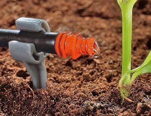 Система капельного полива растений