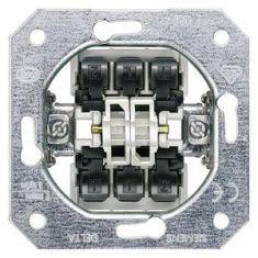 Двухклавишный проходной выключатель (переключатель)