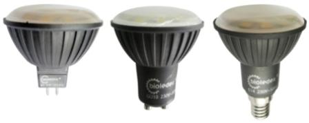 Современные светодиодные лампы с различными цоколями