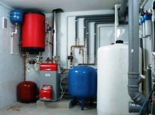 Отопление с помощью дизельного котла