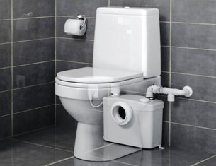 Насос SFA в туалете