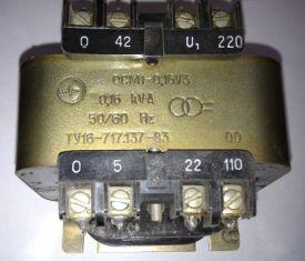 Трансформатор ОСМ для питания цепей управления металлобрабатывающих станков