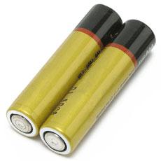 Две пальчиковые батарейки