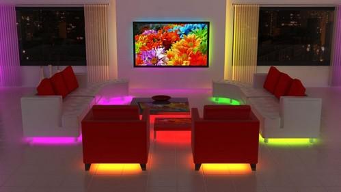 Светодиодные линейки в освещении интерьера