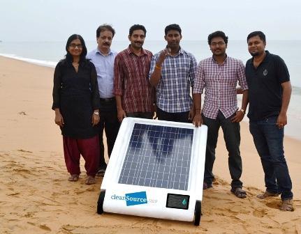 Опреснитель воды на солнечных батареях