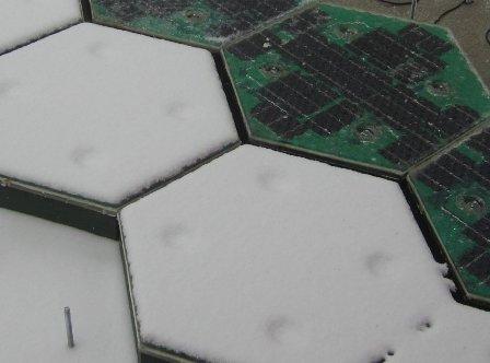 Стеклянные шестиугольники