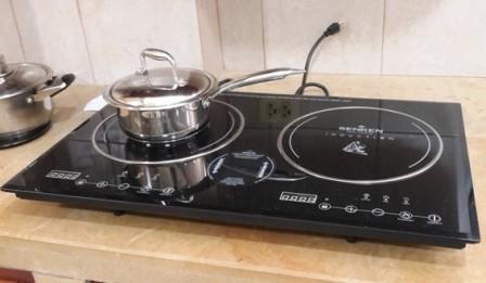 использование индукционной плиты