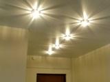 Как установить светильник на натяжной потолок