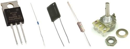 Электронные компоненты для регулятора мощности