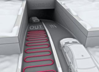 Защита парковок от льда и снега