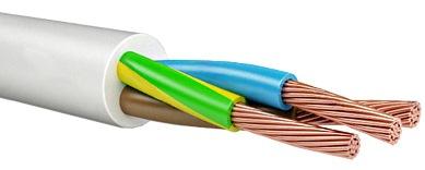 ПВС — провод медный, гибкий, круглый, со скрученными жилами