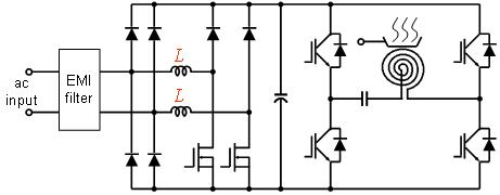 схема индукционной плиты