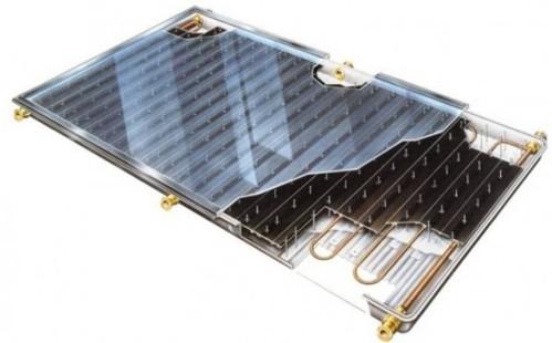Плоский солнечный коллектор