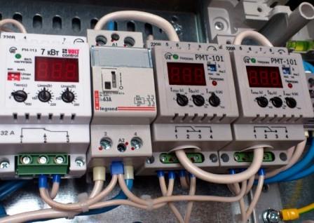 Реле напряжения и тока Новатек Электро - обзор