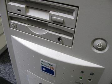 Кнопка включения на системном блоке компьютера
